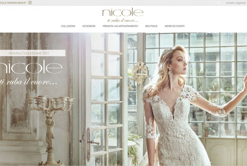Radici Design - Nicole Fashion Group Spa - Sito web 2016